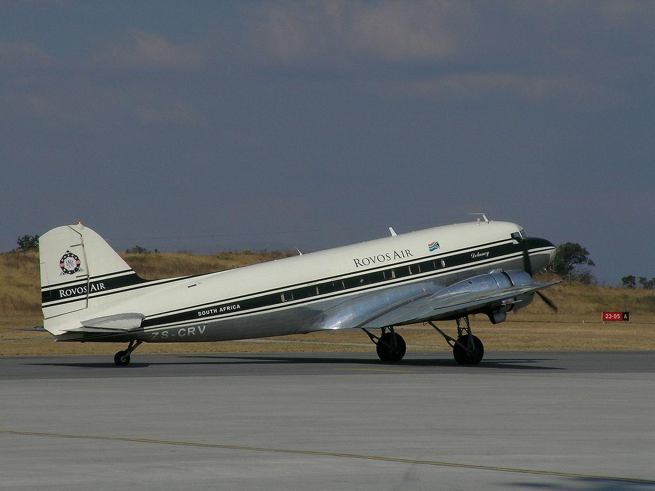Douglas DC-3 – en usedvanlig sterk arbeidshest